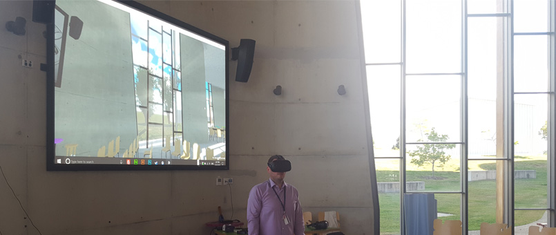 bond university architecture building virtual reality