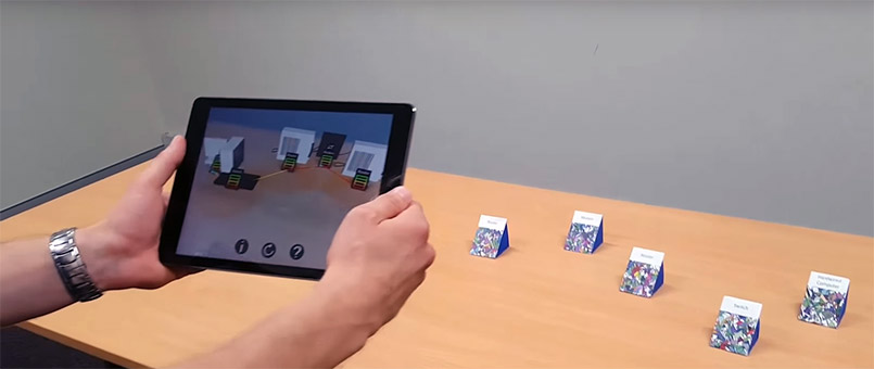 augmented reality networking simulation